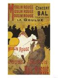 Paris, France - Moulin Rouge La Goulue Valentin le Desosse Poster ポスター : ランターン・プレス