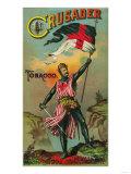 Crusader Tobacco Label - Petersburg, VA Posters by  Lantern Press