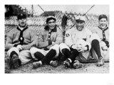 Detroit Tigers Players, Baseball Photo No.1 - Detroit, MI Posters by  Lantern Press