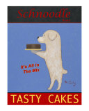 Schnoodle Tasty Cakes Reproduction pour collectionneur par Ken Bailey