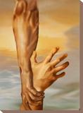 Saving Grace Stretched Canvas Print by Garret Walker