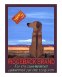 Ridgeback Brand Collectable Print by Ken Bailey
