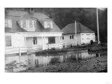 Tillamook Bay US Coast Guard Station - Tillamook Bay, OR Premium gicléedruk van  Lantern Press