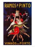 Ramos Pinto Vintage Poster - Europe Julisteet tekijänä  Lantern Press