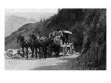 View of Stagecoach Cape Horn Near Chelan Canyon - Lake Chelan, WA Arte por  Lantern Press