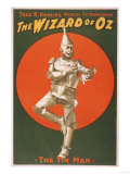 """The Wizard of Oz"" Musical Theatre Poster No.2 Poster by  Lantern Press"