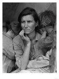"""Migrant Mother"" Pea Picker in California Photograph - Nipomo, CA Prints by  Lantern Press"