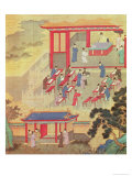 An Ancient Chinese Public Examination, Facsimile of Original Chinese Scroll Gicléedruk