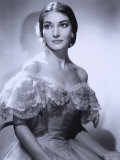 Maria Callas, December 2, 1923 - September 16, 1977, the Most Renowned Opera Singer of the 1950s Lámina fotográfica por Houston Rogers