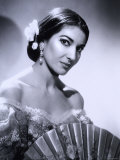 Maria Callas, December 2, 1923 - September 16, 1977, the Most Renowned Opera Singer of the 1950s Reproduction photographique par Houston Rogers