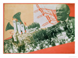 The Construction of the USSR, c.1920 Giclee Print by Alexander Rodchenko