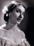Maria Callas as Violetta in La Traviata Fotografie-Druck von Houston Rogers