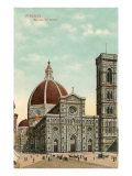 Florence Cathedral, Italy Posters