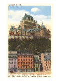 Chateau Frontenac, Quebec Poster