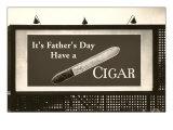 Billboard, Have a Cigar Poster