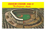 Anaheim Stadium, California Poster