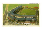 Wrigley Field, terrain des Cubs de Chicago Poster