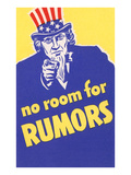 No Room for Rumors Poster
