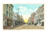 Market Street, Frederick, Maryland Poster
