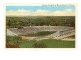 University Stadium, Lawrence, Kansas Art