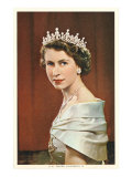 Dronning Elizabeth II Premium Giclee-trykk
