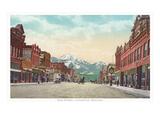 Main Street, Livingston, Montana Kunstdrucke