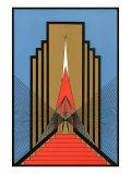 Geometric Art Deco Pôsteres
