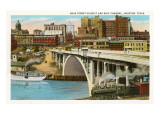 Main Street-Viadukt, Houston, Texas Poster