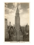 The Chrysler Building, New York City Poster