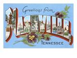 Greetings from Nashville, Tennessee Julisteet