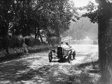 Sunbeam at 1914 Isle of Man TT race, Kenelm Lee Guinness Lámina fotográfica