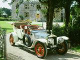 1909 Rolls Royce Silver Ghost Fotografie-Druck