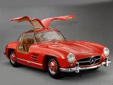 1957 Mercedes Benz 300 SL Gullwing Fotografie-Druck