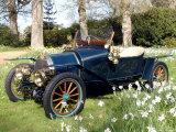1910 Bugatti type 13 Fotografie-Druck