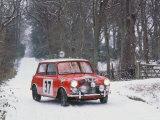 1964 Mini Cooper S Fotografie-Druck