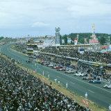 Start of the 1966 Le Mans 24 hours race Fotografisk tryk