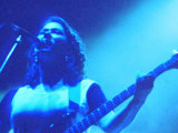 The Pixies on Stage at Reading Festival 1990, Kim Deal Bass Player Fotoprint