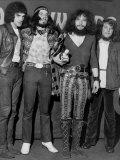 Jethro Tull Rock Group, Lead Singer Ian Anderson 2nd Right, Meledy Maker Awards Fotografisk tryk