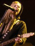Avril Lavigne in Concert at the NIA, Birmingham, 2004 Photographic Print
