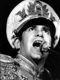 Elton John in Concert at the Odeon, Birmingham, 22nd November 1982 Photographic Print