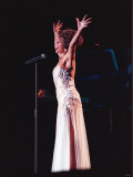 Shirley Bassey in Concert at Thenec, Birmingham Fotografie-Druck