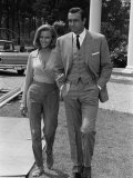 Film Goldfinger, 1964: Sean Connery and Honor Blackman Photographic Print