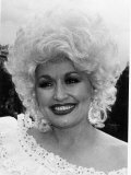 Dolly Parton American Country Singer and Actress May 1983 Fotografisk tryk