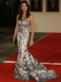 Penelope Cruz Arrives at the Bafta Awards Ceremony. 11th February 2007 Photographic Print