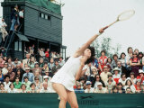 Virginia Wade Tennis Wimbledon 1977 Photographic Print