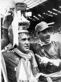 1986, FA Cup-finale på Wembley Stadium Fotografisk trykk