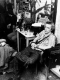 John Lydon British Pop Singer Punk Group Sex Pistols 1977 Backstage in Arnham Photographic Print
