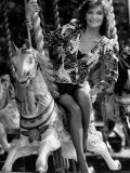 Actress Kate O'Mara of Dynasty, Crossroads and Doctor Who Fame, September 1987 Photographic Print