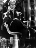 David Bowie Pop Singer on Stage Glass Spider Tour 1987 Fotografisk tryk
