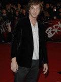 James Morrison Arrives at the Brit Awards 2007 Photographic Print